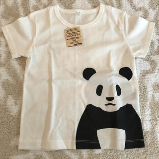 MUJI (無印良品) - 新品♡無印良品 半袖Tシャツ オーガニックコットン パンダ 100