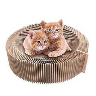 猫 つめとぎ 爪とぎ 爪研ぎ ベッド ダンボール 猫用ソファ (かご/ケージ)