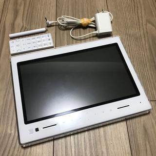エーユー(au)の【美品】au 10.1型 防水液晶テレビ PHOTO-U TV ZTS11 (テレビ)
