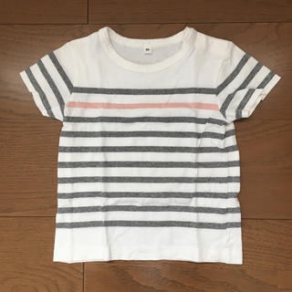 無印 ボーダーTシャツ (90)