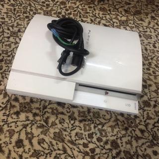 プレイステーション(PlayStation)のPS3 ジャンク コントローラ付き(家庭用ゲーム本体)