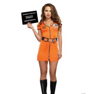 ハロウィン 囚人 Prisoner(衣装一式)