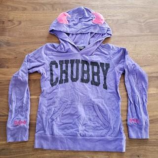 チャビーギャング(CHUBBYGANG)のCHUBBYGANG デビルパーカー薄手(Tシャツ/カットソー)