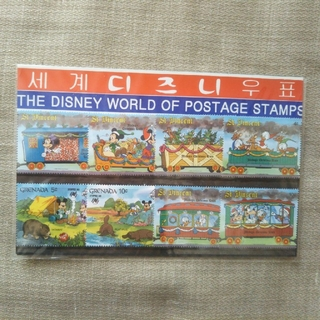 ディズニー(Disney)の韓国 切手シート ディズニー(切手/官製はがき)