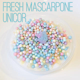 Fresh Mascarpone UNICORN♥240ml♥エルマーズ100%(その他)