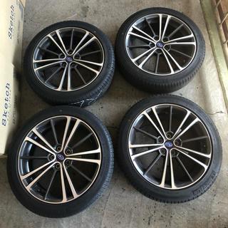 スバル(スバル)のBRZ 純正ホイール+タイヤ 4本セット(タイヤ・ホイールセット)