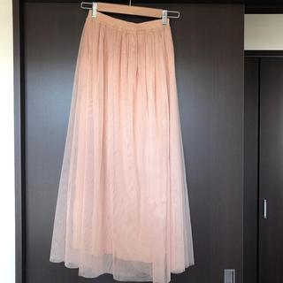 サルース(salus)の♡salus チュールスカート♡(ロングスカート)
