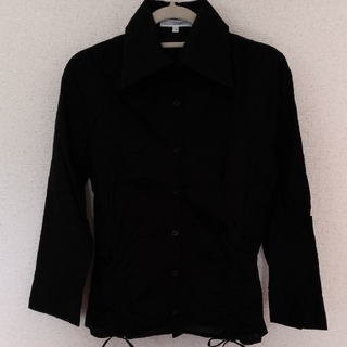 ナラカミーチェ(NARACAMICIE)のナラカミーチェ 黒シャツ(シャツ/ブラウス(長袖/七分))