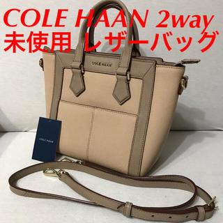 コールハーン(Cole Haan)のCOLE HAAN レザーバッグ ヴィトン シャネル エルメス コーチ グッチ(ハンドバッグ)