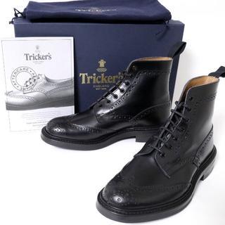 トリッカーズ(Trickers)のトリッカーズ M2508 MALTON レザー ブーツ UK7 新品(ブーツ)