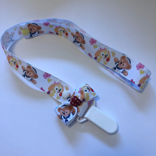 ディズニー(Disney)のおもちゃ・帽子ホルダー(ロング)3段階調節 マルチクリップ ✳︎名入れ可(ベビーホルダー)