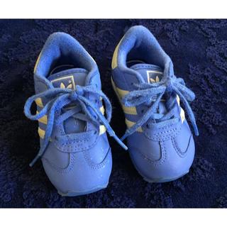 adidas - adidas サックスカラースニーカー 12㎝