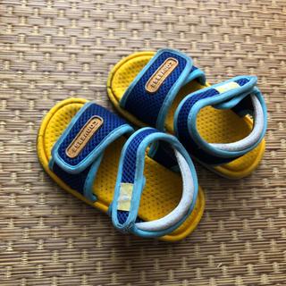 コンバース(CONVERSE)のコンバース サンダル 14 黄 イエロー × 青 ブルー(サンダル)