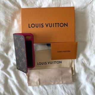 ルイヴィトン(LOUIS VUITTON)のLOUISVUITTON iPhone case 7.8 rose(iPhoneケース)