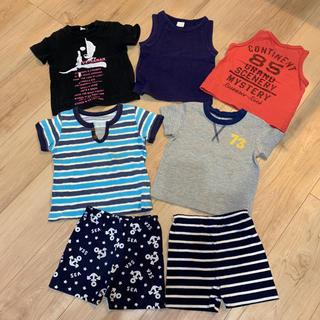 ディズニー(Disney)の男の子 子供服 夏 80(Tシャツ)