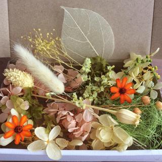 イエロー &グリーン 花材 アソートボックス(プリザーブドフラワー)