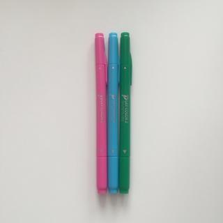 トンボエンピツ(トンボ鉛筆)のトンボ 水性ペン 3色セット(ペン/マーカー)