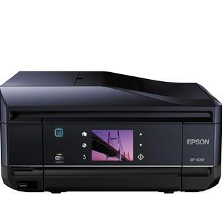EPSON - EPSON プリンター 複合機 ep905f ブラック fax コンパクト