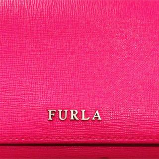 フルラ(Furla)のFURLA フルラ チェリーピンク 長財布 美品(長財布)