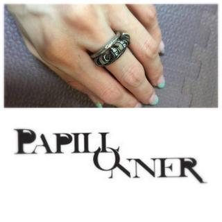 パピヨネ(PAPILLONNER)のパピヨネ 三連リング(リング(指輪))