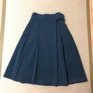 キッカザダイアリーオブ(KIKKA THE DIARY OF)のプリーツ巻きスカート(ひざ丈スカート)