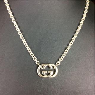 9f737d0afce8 グッチ(Gucci)のグッチ ネックレス シルバー925 GGモチーフ A91113(ネックレス)
