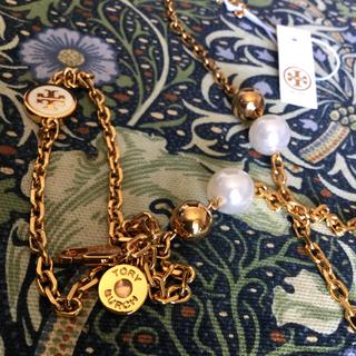 トリーバーチ(Tory Burch)のトリーバーチ ネックレス、チェーンベルト 新品タグ付き(ネックレス)