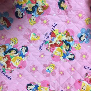ディズニー(Disney)のディズニー プリンセス キルティング 生地(生地/糸)