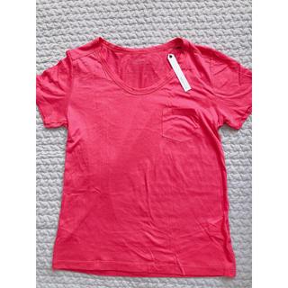 エルフォーブル(ELFORBR)のエルフォーブルベーシックUネックTシャツカットソー(Tシャツ(半袖/袖なし))