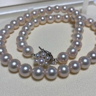 タサキ(TASAKI)のタサキ  田崎真珠  8~8.5mm未満  パールネックレス  美品(ネックレス)
