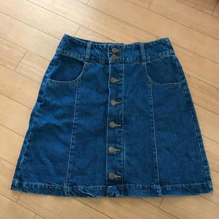 コルザ(COLZA)のレディース デニムスカート(ひざ丈スカート)