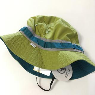 エーグル(AIGLE)の新品未使用 ベビー帽子 AIGLE(帽子)