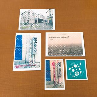 橋本塁 写真展ポストカード&ステッカー(写真)