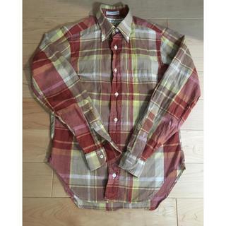 インディヴィジュアライズドシャツ(INDIVIDUALIZED SHIRTS)の超美品  チェックシャツ (シャツ/ブラウス(長袖/七分))