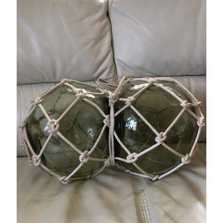 浮き玉 2ペア  送料込み(ガラス)
