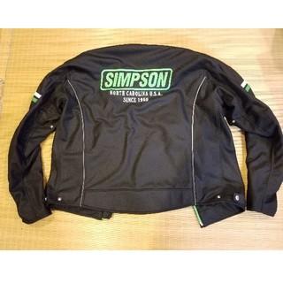 シンプソン(SIMPSON)のSIMPSON メッシュジャケット LWサイズ(装備/装具)