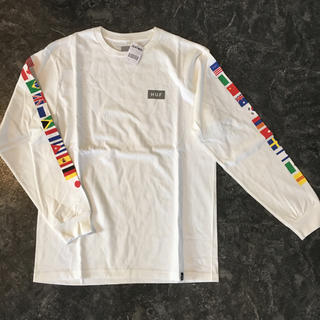 新品 lサイズ HUF tシャツ 長袖tシャツ ロンt