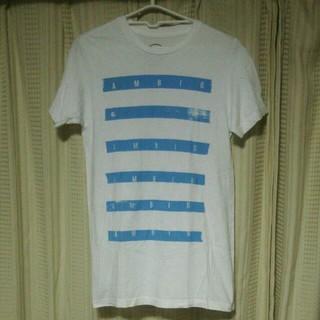 アンビギュアス(AMBIGUOUS)のAmbiguousプリント 半袖Tシャツ Sサイズ AMBIGアンビギュアス(Tシャツ/カットソー(半袖/袖なし))