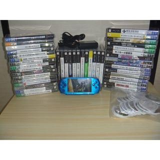 PlayStation Portable - PSP3000 ソフト45本大量まとめセット おまけの裸ソフト付き