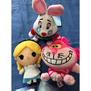 ディズニー(Disney)の新品アリス ミニマスコット3個セット(ぬいぐるみ/人形)