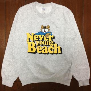 never young beach スウェットトレーナー