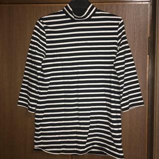 ルシェルブルー(LE CIEL BLEU)の値下げ❗️ボーダーTシャツ(Tシャツ(長袖/七分))