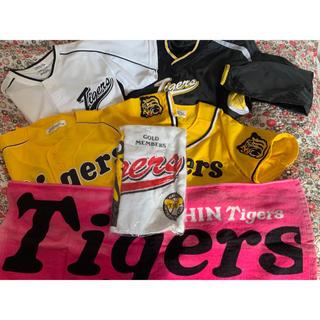 ハンシンタイガース(阪神タイガース)の阪神タイガース tigers ファンクラブセット(応援グッズ)