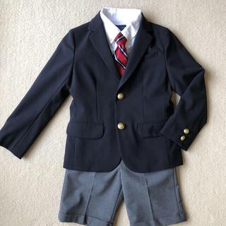ラルフローレン(Ralph Lauren)のスーツ キッズ ラルフローレン ネクタイ グリーンレーベルリラクシング  美品(ドレス/フォーマル)