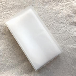 ムジルシリョウヒン(MUJI (無印良品))の無印良品 ポリプロピレンCD・DVDホルダー2段40枚収納80ポケット(CD/DVD収納)