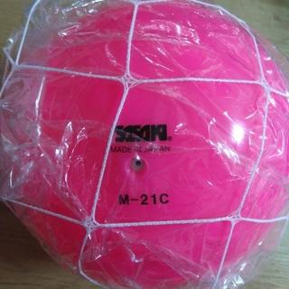 ササキスポーツ 新体操ボール ピンク M-21C