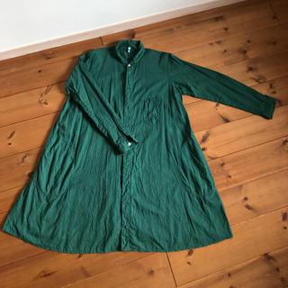 グリーン(green)のgrin コットンワンピース (ロングワンピース/マキシワンピース)