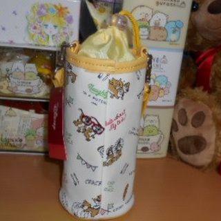 ディズニー(Disney)の新品・未使用💕チップ&デールペットボトルケース(収納/キッチン雑貨)