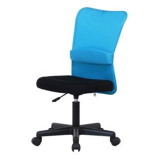 新品 ブルー メッシュバッチェアーハンターⅡ  事務椅子 勉強椅子(デスクチェア)