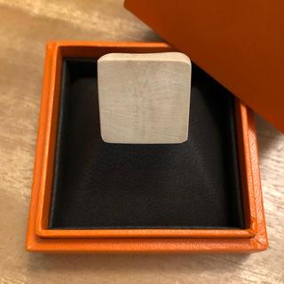 キャセリーニ(Casselini)のスクエア型ウッドリング(リング(指輪))
